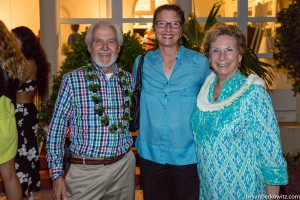 MWA sponsors Judy McCorkle and Tom Reed of Aloha Recycling INC with Kathy Kaspryzcki
