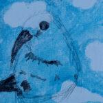 Sylvie Hannah Goodblatt | ʻApapane in the Clouds