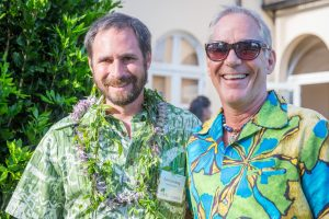 EMWP Program Mngr. Dan Eisenberg and County Of Maui Env. Coordinator Rob Parsons