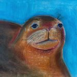Sophi Moore | Monk Seal Portrait